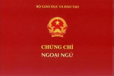 """Bộ GD&ĐT """"khai t.ử"""" chứng chỉ ngoại ngữ hệ A-B-C, chứng chỉ ngoại ngữ từ ngày 15-1-2020 sẽ thi theo hình thức nào"""